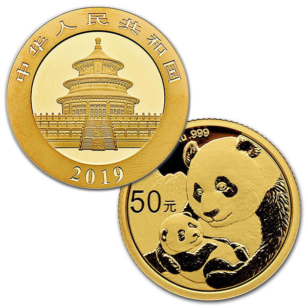 Chinese Panda Gold - 3 Gram, .999 Purity thumbnail
