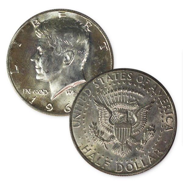 40% Silver Kennedy Half Dollars thumbnail