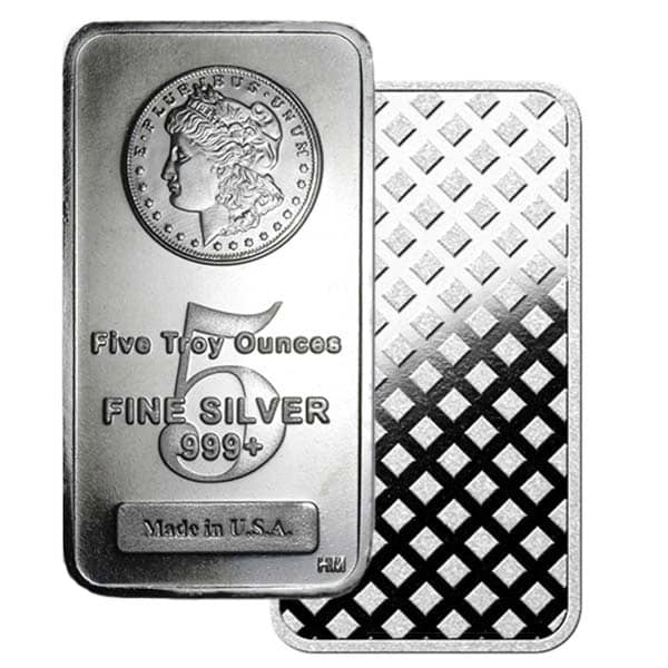 5 Oz Silver Bars thumbnail