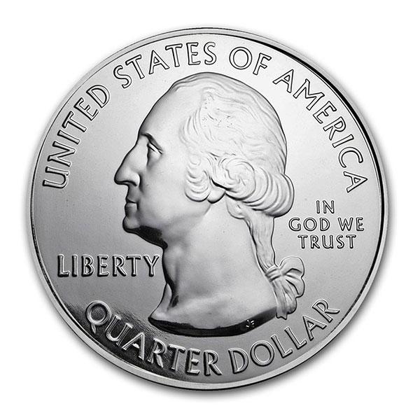 America the Beautiful - Apostle Islands National Lakeshore 5 Ounce  999  Silver