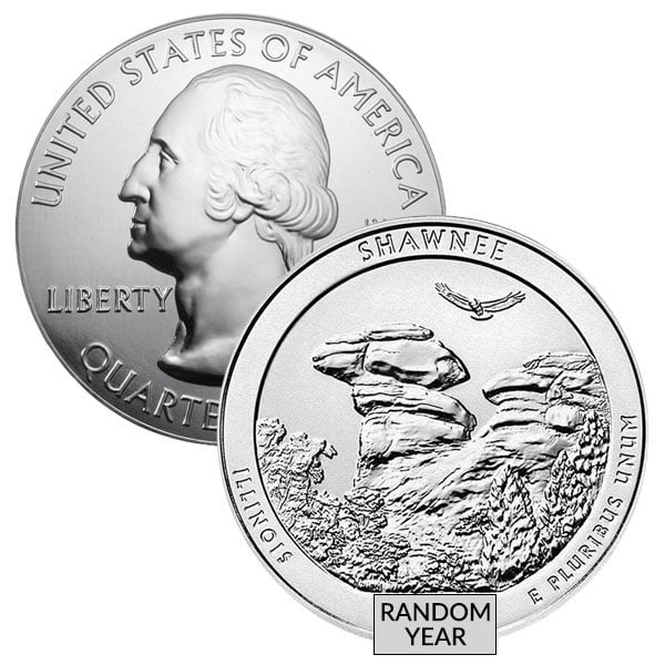 America the Beautiful (ATB) 5-Oz Silver Coin thumbnail