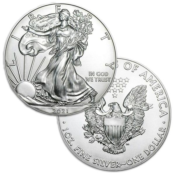 2020 Silver American Eagle thumbnail