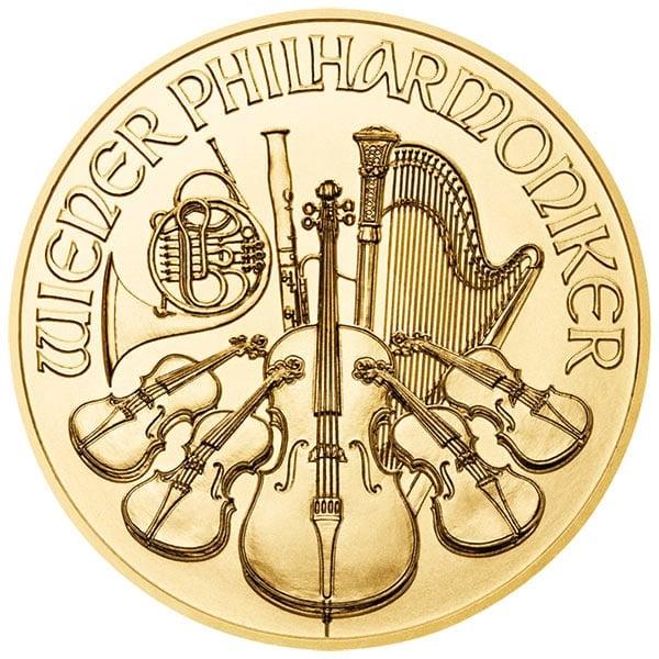 1 Oz Austrian Philharmonic Gold Coins