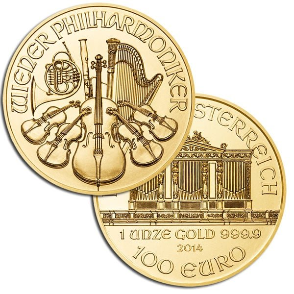 Austrian Philharmonic Gold Coins