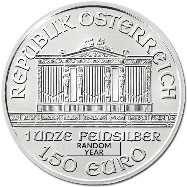 Austrian Mint Philharmonic 1 Oz Silver Coins thumbnail