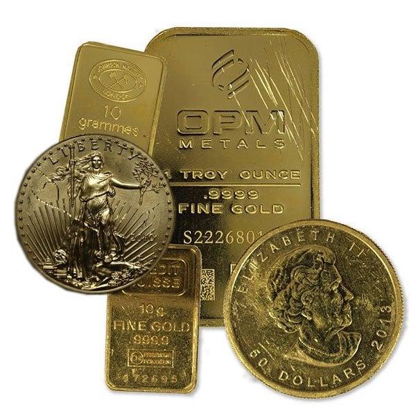 Bargain Bin Gold - .999+ Pure