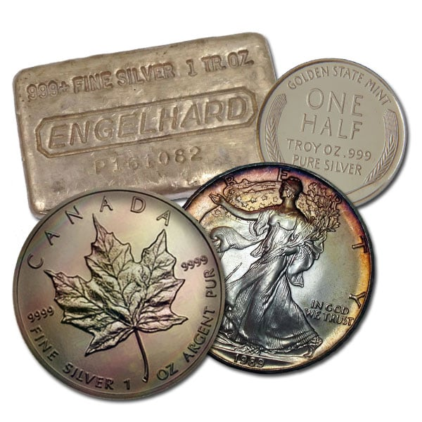 Bargain Bin Silver - .999+ Pure