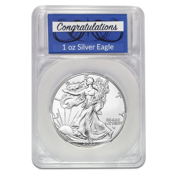 Silver American Eagle - In Congratulations Capsule thumbnail