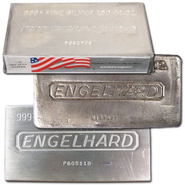 100 Oz Silver Bars For Troy