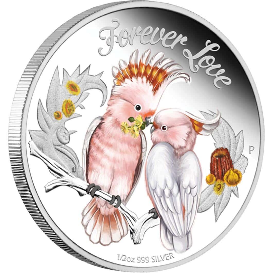 Forever Love - 1/2 Oz .999 Fine Silver