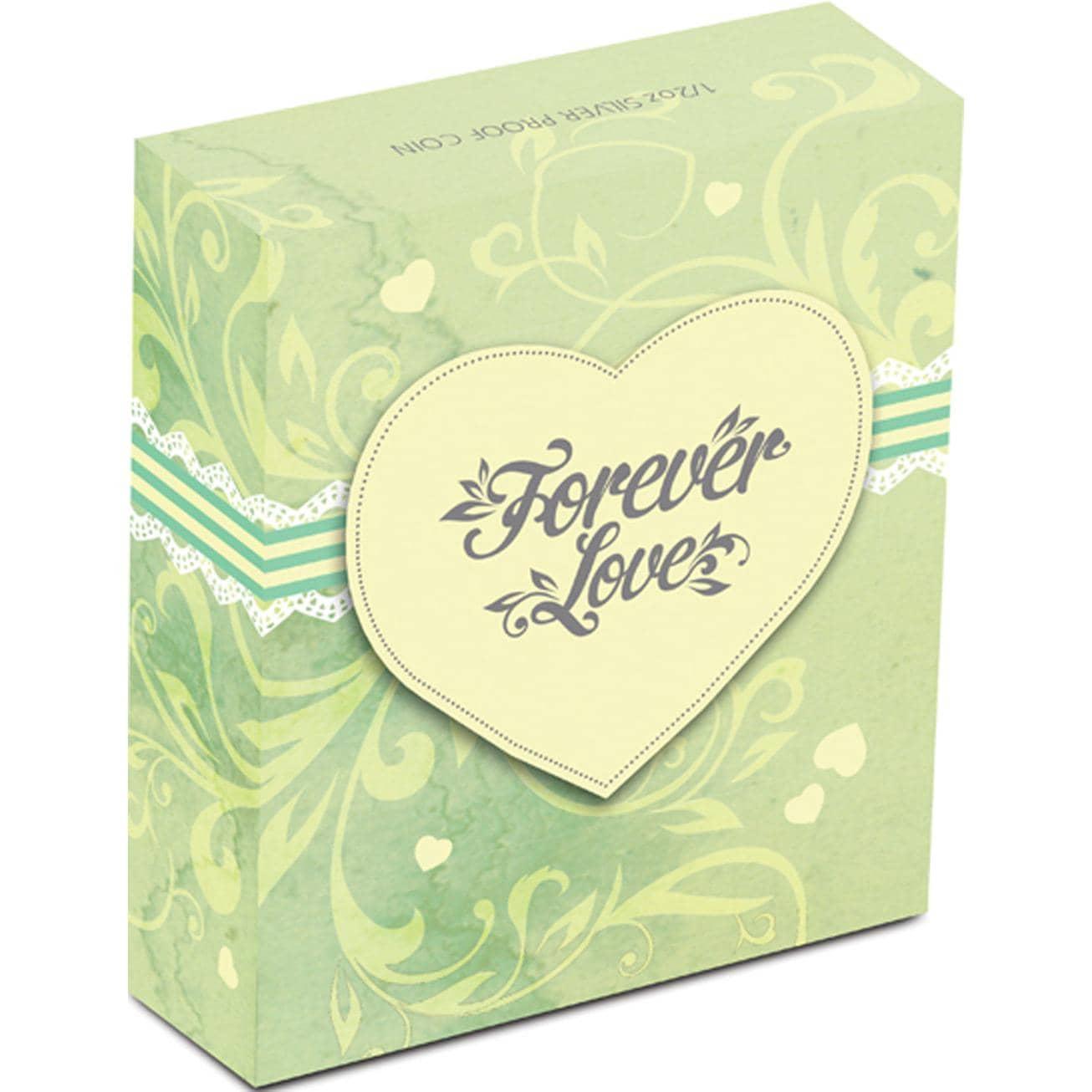 Forever Love - 1/2 Oz .999 Fine Silver thumbnail