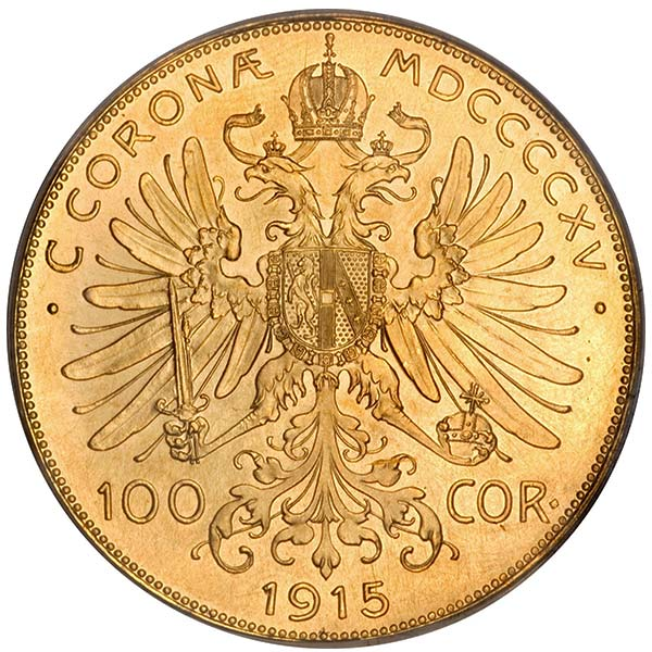 Austrian 100 Corona - .9802 Ounces Gold thumbnail