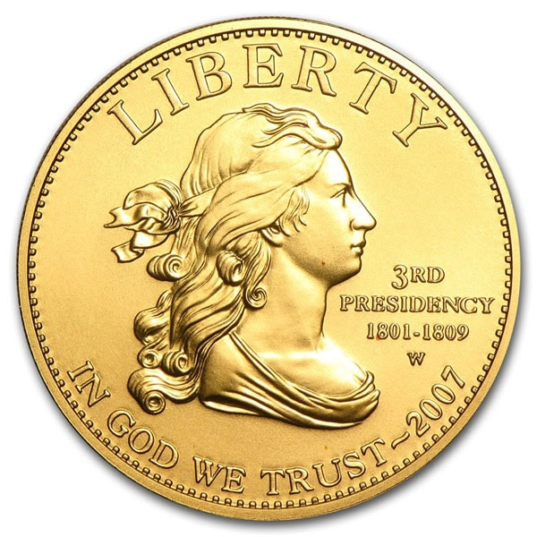 First Lady - U.S. Commemorative 1/2 Oz .9999 Gold $10 Coin thumbnail