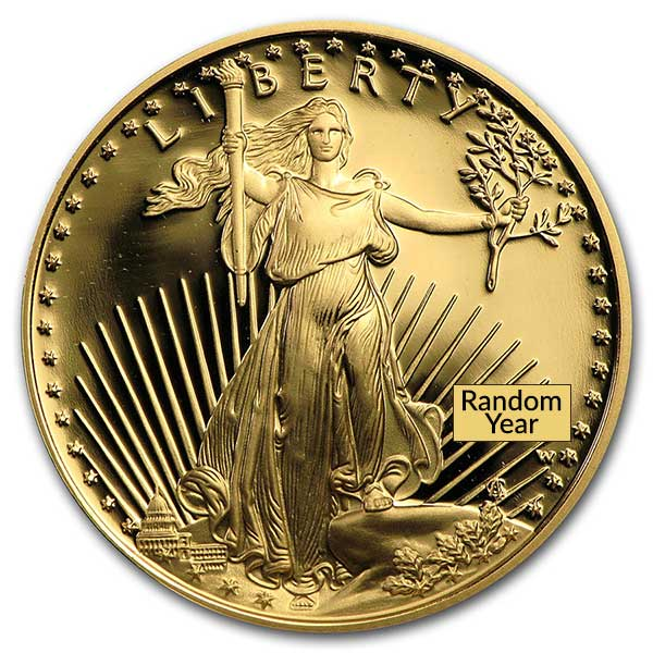 Proof Gold Eagle - 1/2 oz thumbnail