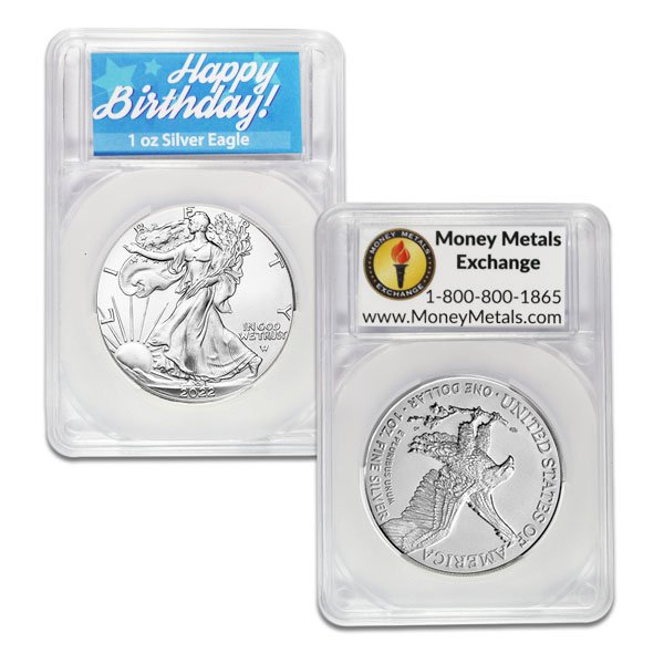 American Silver Eagle - In Happy Birthday Capsule thumbnail