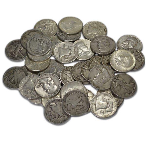 90% Silver Half Dollars Pre-1965 Junk Silver Coins thumbnail