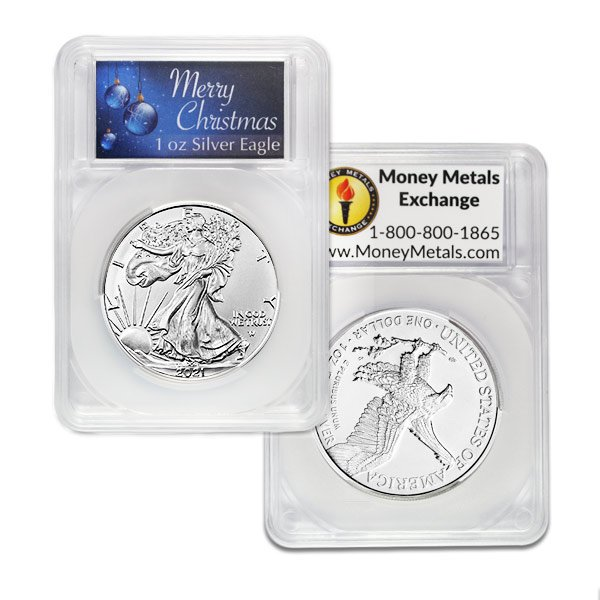 Silver American Eagle - In Merry Christmas Capsule thumbnail