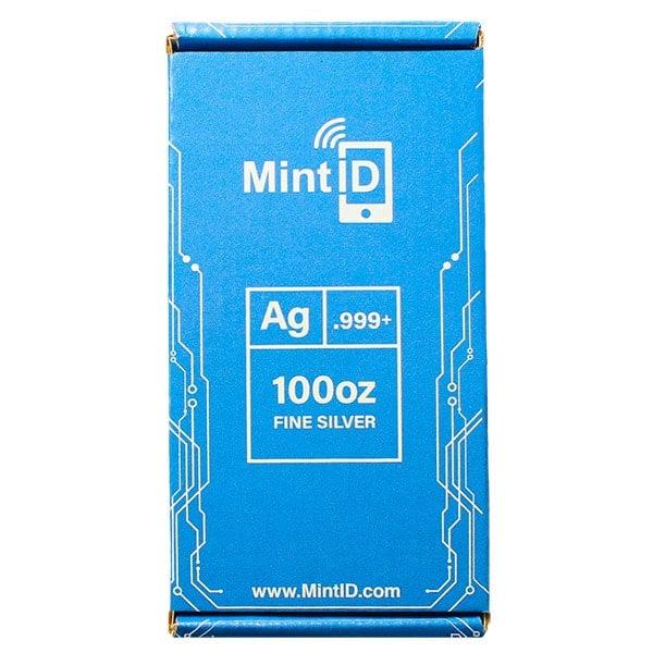 MintID Silver Bar - 100 Ounce .999 Pure thumbnail