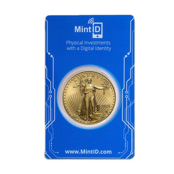 MintID Gold American Eagle - 1 Oz, 2021 Type 2