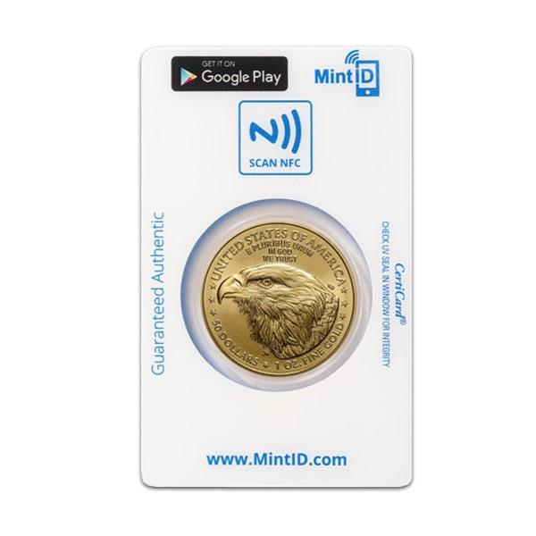 MintID Gold American Eagle - 1 Oz, 2021 Type 2 thumbnail