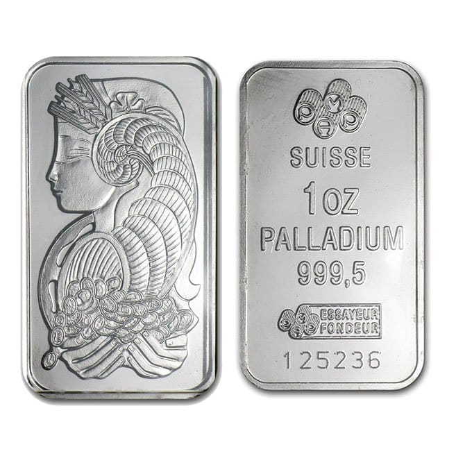 Buy 1 Oz Palladium Bars Online Money Metals