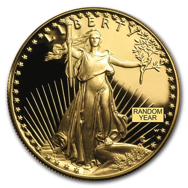 Proof Gold Eagle - 1 oz thumbnail