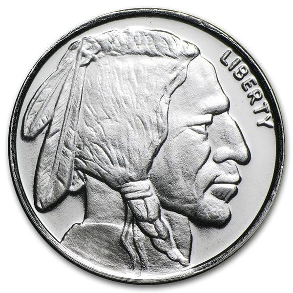 1/4 Ounce Buffalo SILVER Round, .999 Pure