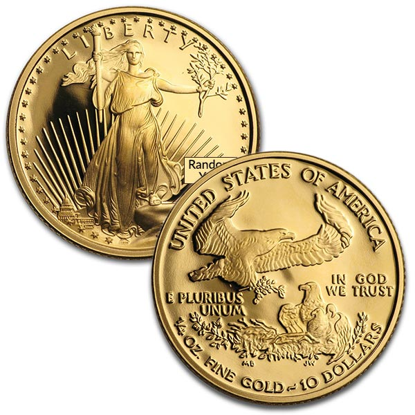 Proof Gold Eagle - 1/4 oz thumbnail