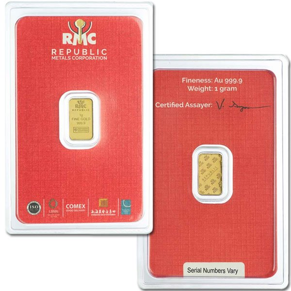 1 Gram Gold Bar thumbnail