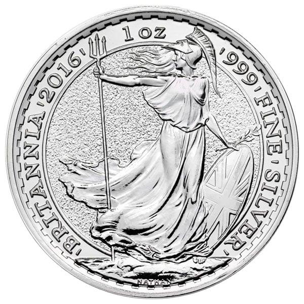 Silver Britannia - 1 Troy Oz, .999 Pure