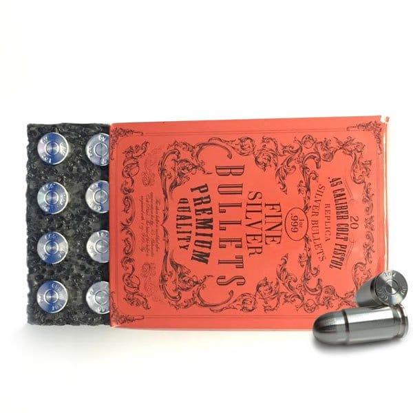 Silver Bullet - 1 Troy Oz .999 Fine Silver thumbnail