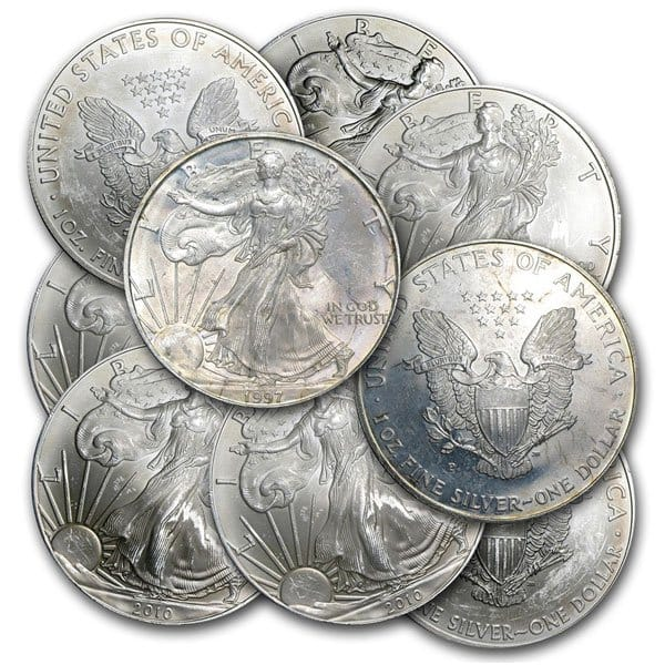 Tarnished Silver Eagles
