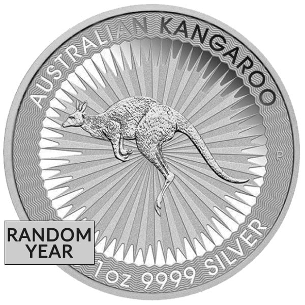 Silver Australian Kangaroo - 1 Troy Oz .9999 Pure