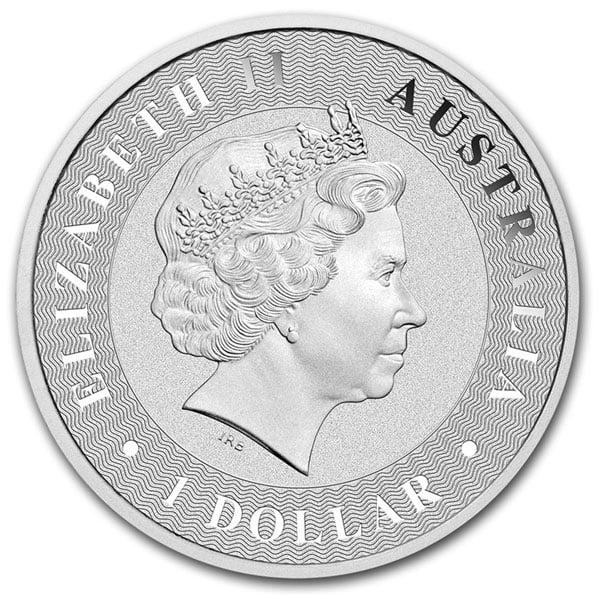 Silver Australian Kangaroo - 1 Troy Oz .9999 Pure thumbnail