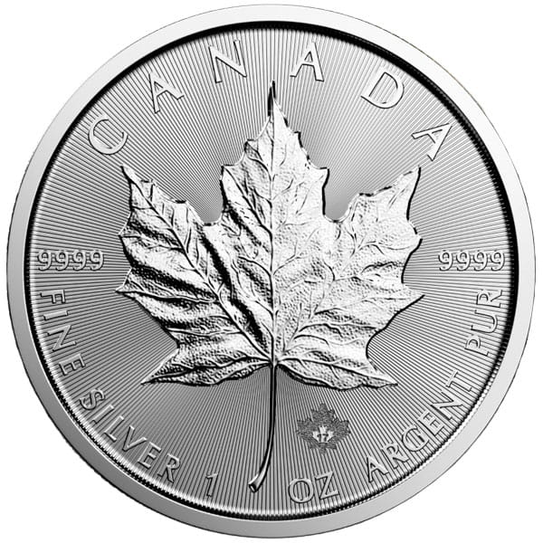 Canadian Silver Maple Leaf (1 oz) thumbnail