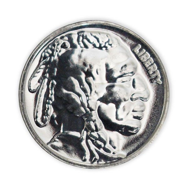 NEW Intaglio Mint Wild West Legends Buffalo Bill 1 oz .999 Silver Round