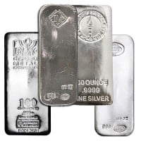 100 Oz Silver Bar (Design Our Choice)