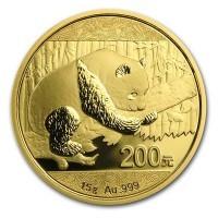 Chinese Gold Panda- 15 Gram, .999 Purity