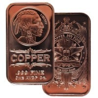 1 oz Don't Tread on Me Copper Rounds