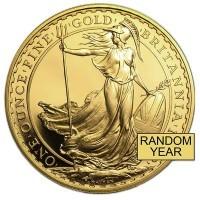 British Britannia Gold Coins