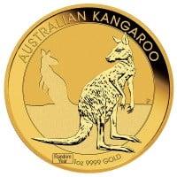 1 Oz Australian Kangaroo Gold Coins