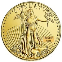 1/2 Oz American Gold Eagle Coin