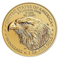 American Gold Eagle Coin 2021 Type 2 - 1 Troy Ounce