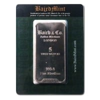 5 Oz Rhodium Bars