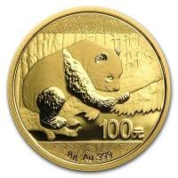 Chinese Gold Panda - 8 Gram, .999 Purity