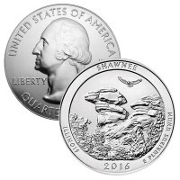 America the Beautiful (ATB) 5-Oz Silver Coin (Design Our Choice)