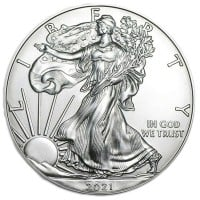 1 Oz Silver American Eagles