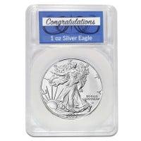 Silver Eagle Congratulations Capsule