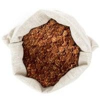 95% Copper pennies