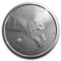 Canadian Predator Series Silver Coins 2017 LYNX